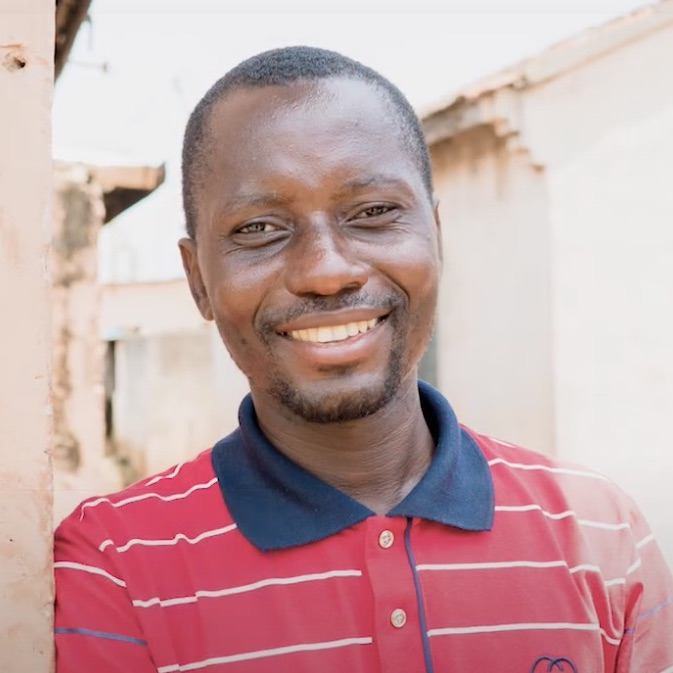 Portrait von Dieudonne Kwame Agudah