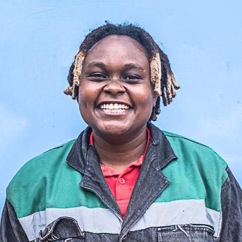 Portrait von Nzambi Matee
